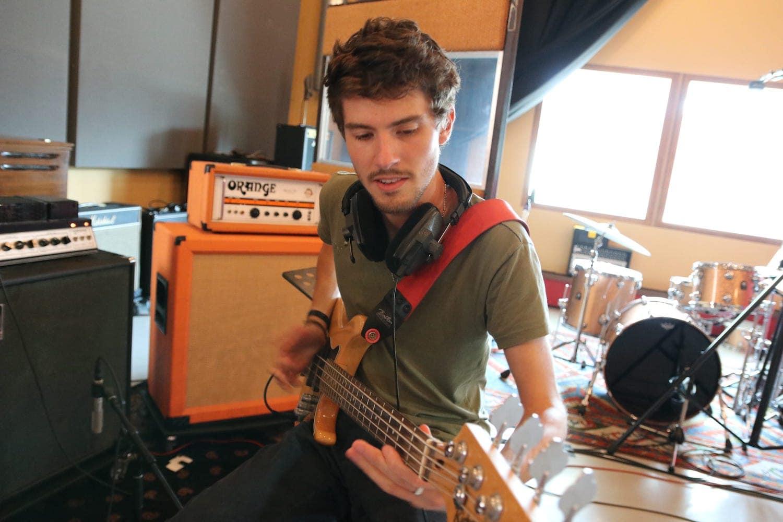 Guitar Recording Session